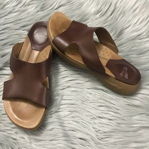 Dansko Slip On Sandals Brown Eu 37